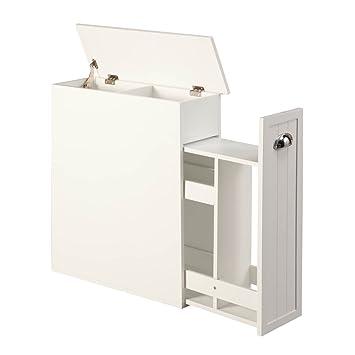 Elegant Amazon.com: Miles Kimball Slim Bathroom Storage Cabinet By OakRidgeTM:  Automotive