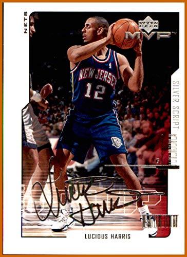 newest 641b2 6348c 2000-01 Upper Deck MVP Silver Script #109 Lucious Harris NEW ...