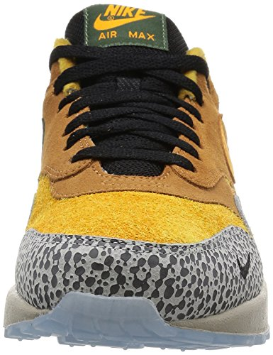 Nike Air Max 1 Mens Premium Qs Safari Lino / Kumquat Camoscio