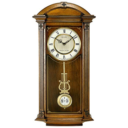 (Bulova C4331 Hartwick Chiming Clock, Walnut)