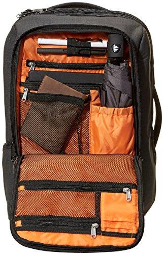 AmazonBasics Slim Carry On Travel Backpack, Black - Overnight