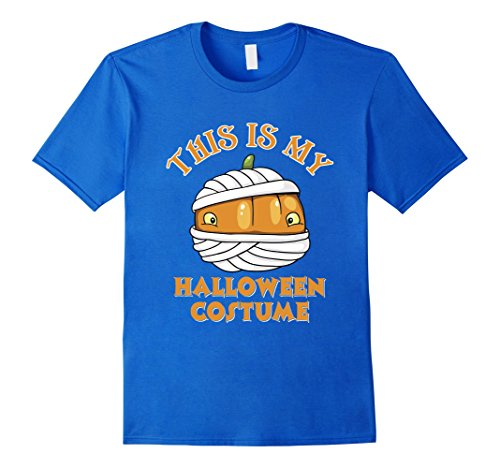 Men Halloween Costumes Ideas 2016 (Mens This Is My Halloween Costume T-Shirt Funny Gift T-shirt XL Royal Blue)