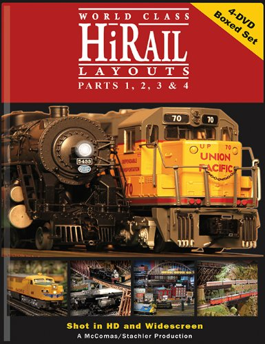 Hi-Rail Layouts 4 DVD Boxed Set ()