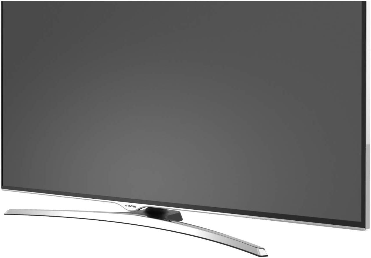 Televisor Hitachi de 55 pulgadas (138,7 cm) 4 K/Smart TV: Netflix, YouTube, Internet, Facebook/Wifi y Bluetooth/4 HDMI/VGA-PC/3 USB (grabador de TV + reproductor multimedia): Amazon.es: Electrónica