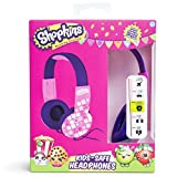 Shopkins Kids-Safe Volume Limiting Headphones