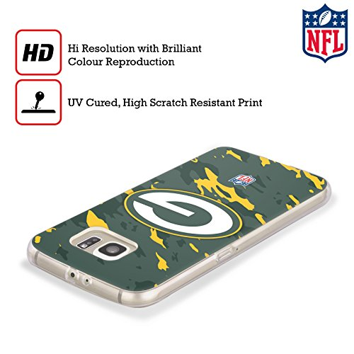 Official NFL Camou Green Bay Packers Logo Soft Gel Case for Samsung Galaxy S8+ / S8 Plus