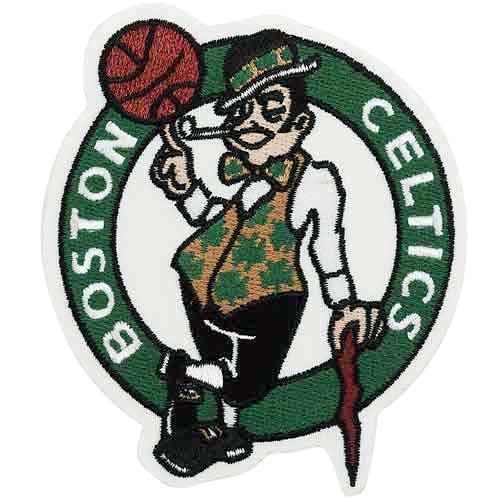 Boston Celtics Primaryチームロゴパッチ   B004UJ5ZFC