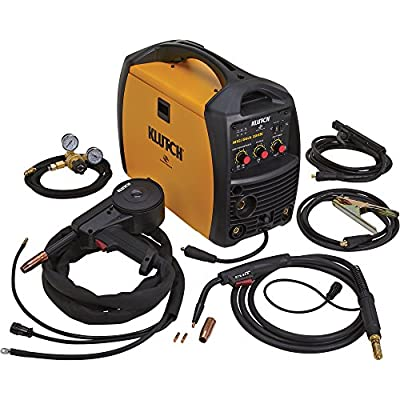 Klutch MIG/Stick 220Si 230V Multiprocess Welder with Spoolgun - 230V, 140 Amps