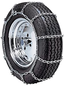 "Security Chain Company Quik Grip Type PL Class ""S"" Passenger Vehicle Tire Traction Chain - Set of 2 from SCC"