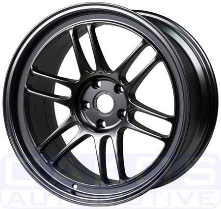 18x9.5 Enkei RPF1 Gunmetal Wheel Rim 5x114.3 5x4.5 +15mm Offset 73mm Hub Bore (Enkei Wheels)