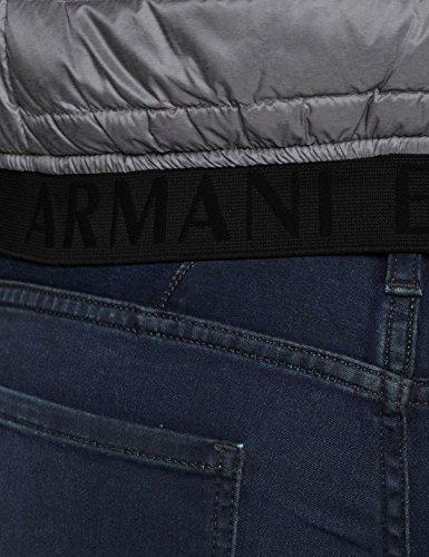 Esterno Blu Gilet Grey navy Da htr Uomo Armani Exchange 0902 qPXUtg