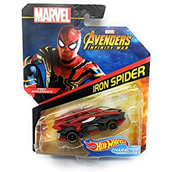 Hot Wheels Character Cars Iron Spider First Appearance Marvel Avengers Infinity War