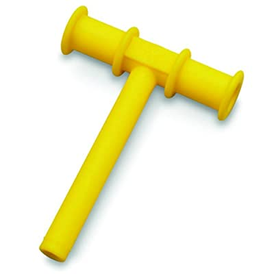 "Chewy Tube Special Needs Oral Motor Tool Autism Sensory Chew Teething Toy Anxiety Reliever (yellow chewy 3/8""): Office Products"