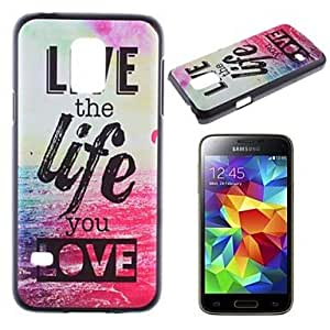 SHOUJIKE Live and Life of Sea Pattern PC Hard Case for Samsung Galaxy S5 Mini G800