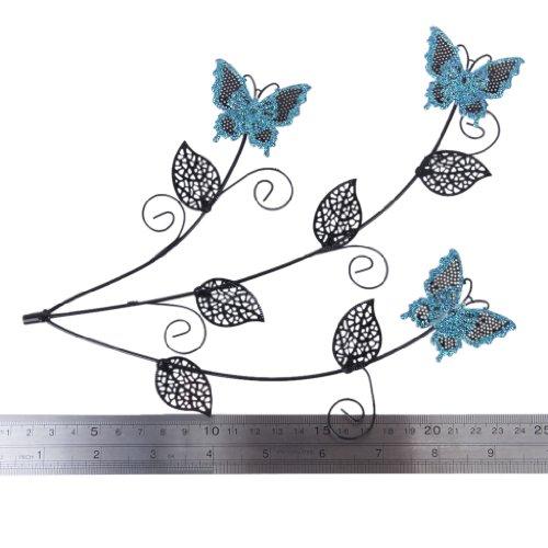 blau schmetterling baum schmuck st nder ohrring halter veranstalter anzeige rack. Black Bedroom Furniture Sets. Home Design Ideas