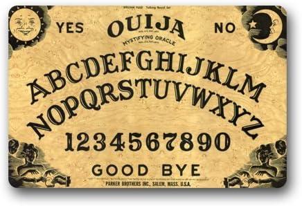 Quick Drying Waterhog door Mat – Personalize with Ouija Board Doormat