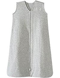 Sleepsack 100% Cotton Wearable Blanket, Heather Gray, Large