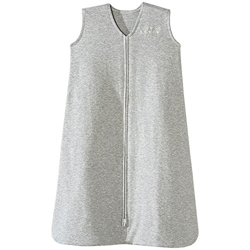Halo Sleepsack 100% Cotton Wearable Blanket, Heather Gray, Medium