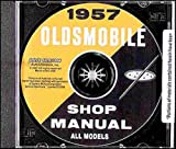1957 OLDSMOBILE FACTORY REPAIR SHOP & SERVICE MANUAL CD - INCLUDES: Golden Rocket 88 (Eighty-Eight), Super 88 (Eighty-Eight) and Starfire 98 (Ninety-Eight) (includes all convertibles and wagons). OLDS 57