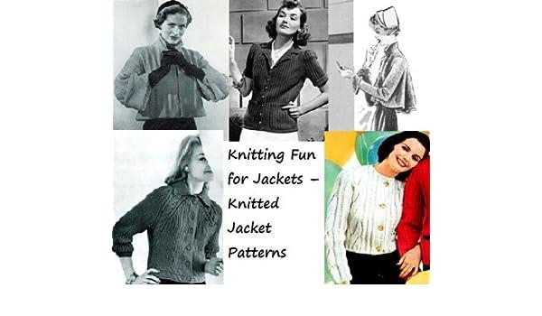 Amazon.com: Tejer diversión para chaquetas – patrones de chaqueta de punto (Spanish Edition) eBook: Unknown: Kindle Store