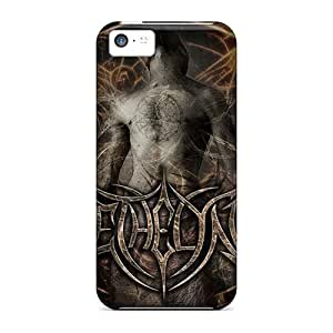 Great Hard Phone Covers For Iphone 5c With Customized High Resolution Eternal Oath Band Pattern LauraAdamicska
