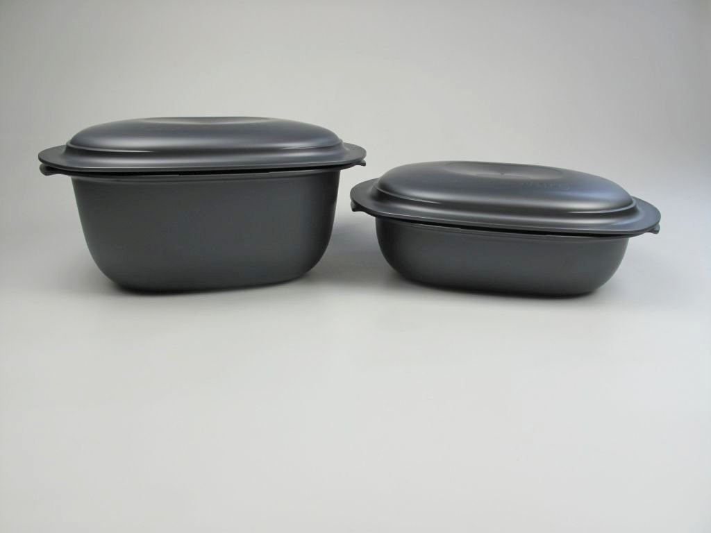 Tupperware Ultra Pro Casserole Set 2.1Q + 3.7Q Microwave and Oven Safe Baking Dishes
