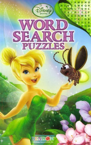 Disney Fairies Tinkerbell Word Search Puzzles