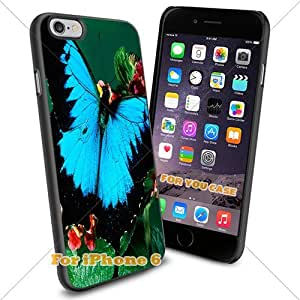 Animal : Butterfly2 Cell Phone Iphone Case, For-You-Case Iphone 6 Silicone Case Cover NEW fashionable Unique Design