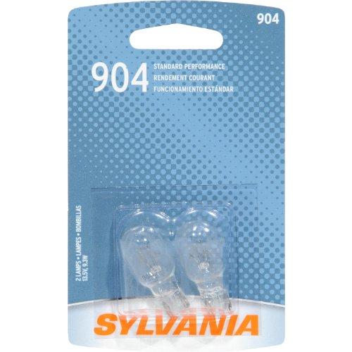 904 Miniature (SYLVANIA 904 Basic Miniature Bulb, (Contains 2)