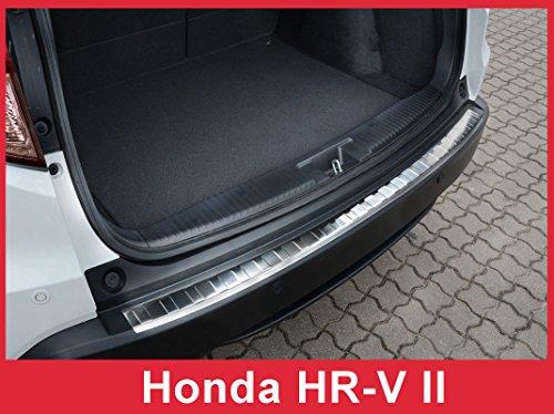 2016-2018 Honda HR-V HRV - Stainless Steel Rear Bumper Protector Guard (Honda Accessories Aftermarket)