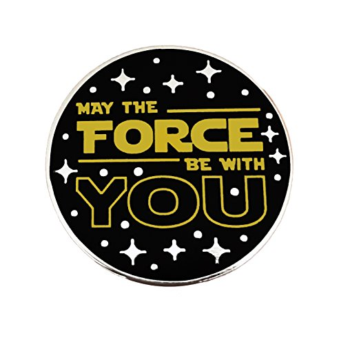 Balanced Co  Star Wars   May The Force Be With You Enamel Pin