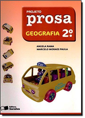 Projeto Prosa. Geografia. 2º Ano pdf epub