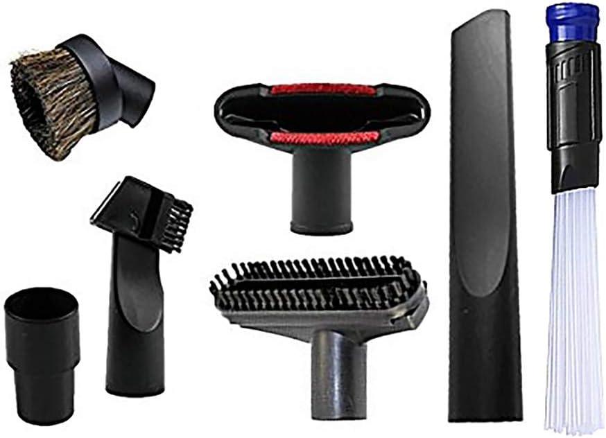6pcs / Lot Universal Aspirador Accesorios Kit de Limpieza Herramienta de división de Boquilla de Cepillo para Manguera estándar de 32 mm