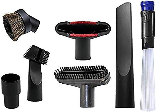 6pcs / Lot Universal Aspirador Accesorios Kit de Limpieza Herramienta de división de Boquilla de Cepillo para Manguera estándar de 32 mm: Amazon.es: Hogar