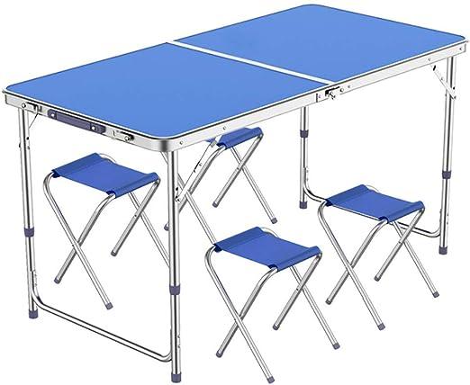 Mesa Las mesas de Camping Que se pliegan, Plegable de Metal y ...