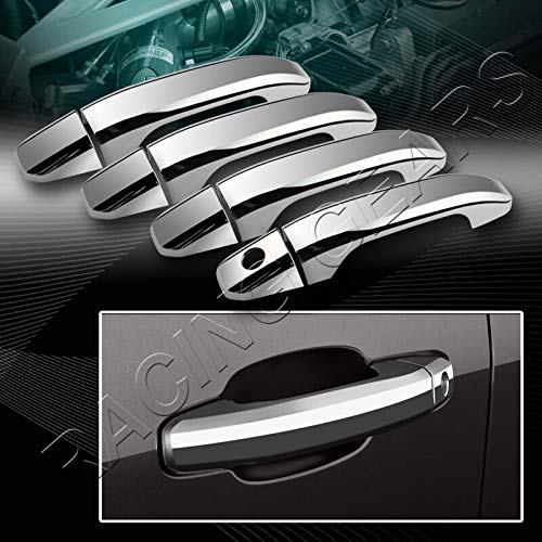 Cover CAPS Trim Compatible with Chevy Suburban Tahoe//GMC Yukon XL Mirror Chrome Door Handle