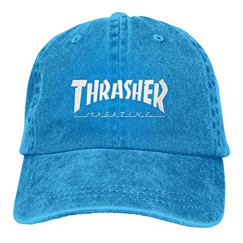 ZestyChef Women's&Men's Fashionable DIY Thrasher Unisex Denim Hats Cowboy Baseball -