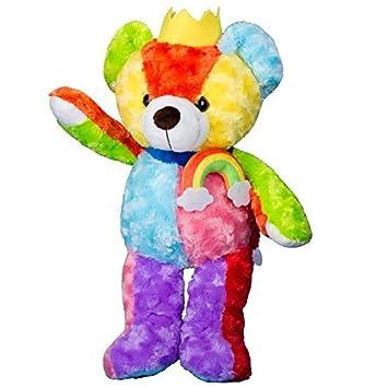 Vobell oso de peluche Animales de peluche arco iris Queen y King