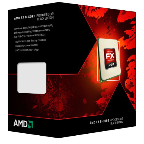 AMD FX 8-Core Black Edition FX-8300 3.3 GHz with 4.2 GHz Turbo Octa core Processor (FD8300WMHKBOX)