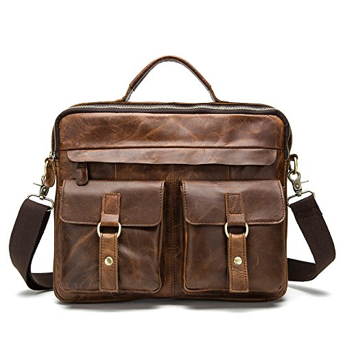 Meoaeo Los Hombres Individuales Bolsa Bandolera, Los Hombres Y Los Hombres Individuales Bolso Café Oscuro Trompeta Red brown