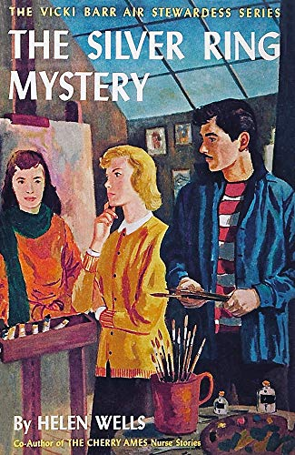 Helen Wells - The Silver Ring Mystery (Illustrated) (The Vicki Barr Air Stewardess Series Book 13)
