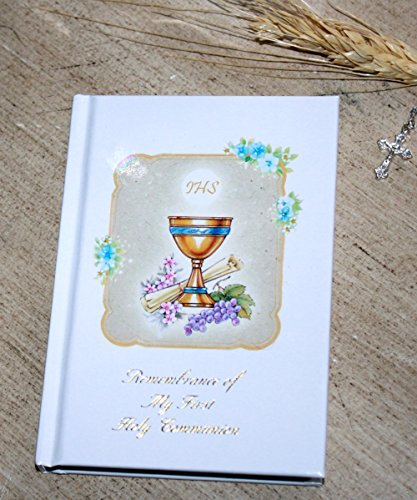 Remembrance of My First Holy Communion Missal - Catholic Prayer Book Hard Cover English