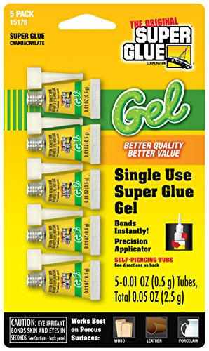 super-glue-15176-12-glue-gel-single-use-minis-tubes-5-pack-5g
