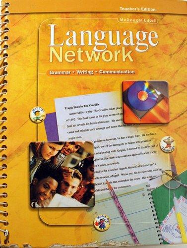 McDougal Littell Language Network: Teacher Edition Grade 11 2001