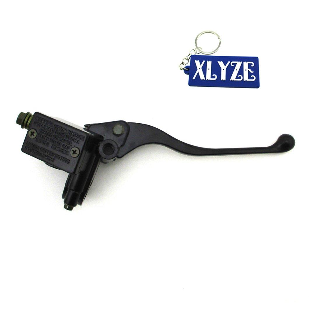 XLYZE Cilindro maestro de freno hidr/áulico para Yamaha Maxim XS400 XS650 XV535 XJ900 XJ600 XS750 SRX250 SRX600 XJ650R