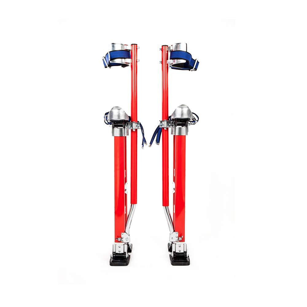 Tidyard 24'' - 40'' AL-Alloy Stilt Red by Tidyard
