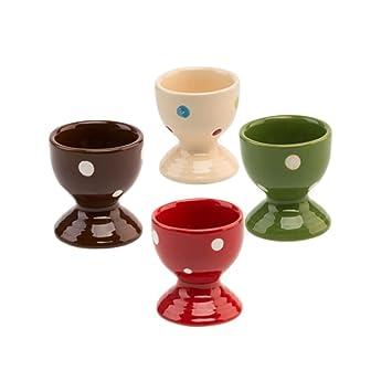 choold hueveras de lunares, cerámica/Soportes/Soportes de huevo ...