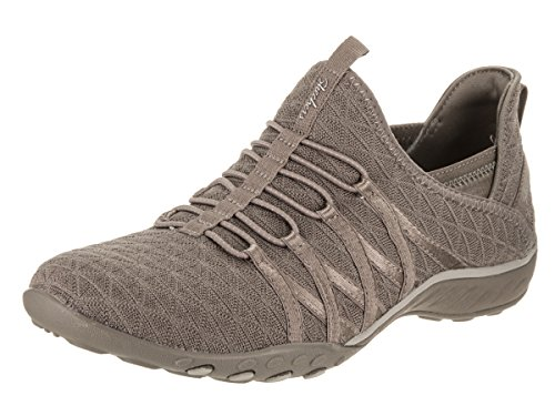 Skechers Casual Taupe Women's City Viva Easy Breath Shoe xZvqH