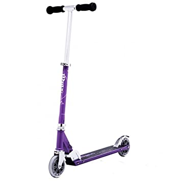 JD Bug Scooter Classic - Purple plegable Kick Scooter ...