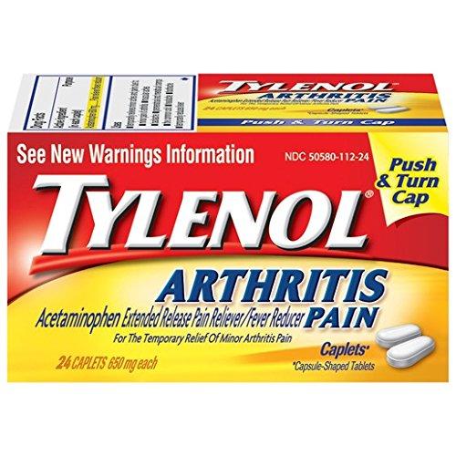 Tylenol 8 Hour Arthritis Pain Caplets, 24 Count